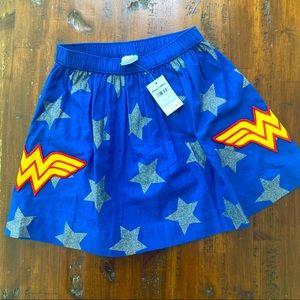 Hanna Andersson NWT Wonder Woman Skirt 120/6-7